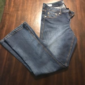 Torrid Source of Wisdom Dark Wash Boot Cut Jeans